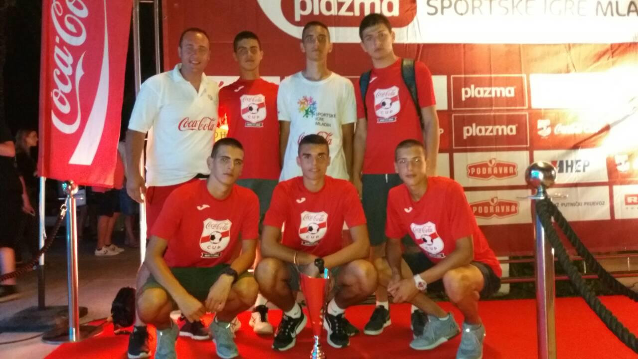 Бронзане медаље за пријепољске одбојкаше на песку и кошаркаше на Међународном финалу СИМ у Сплиту