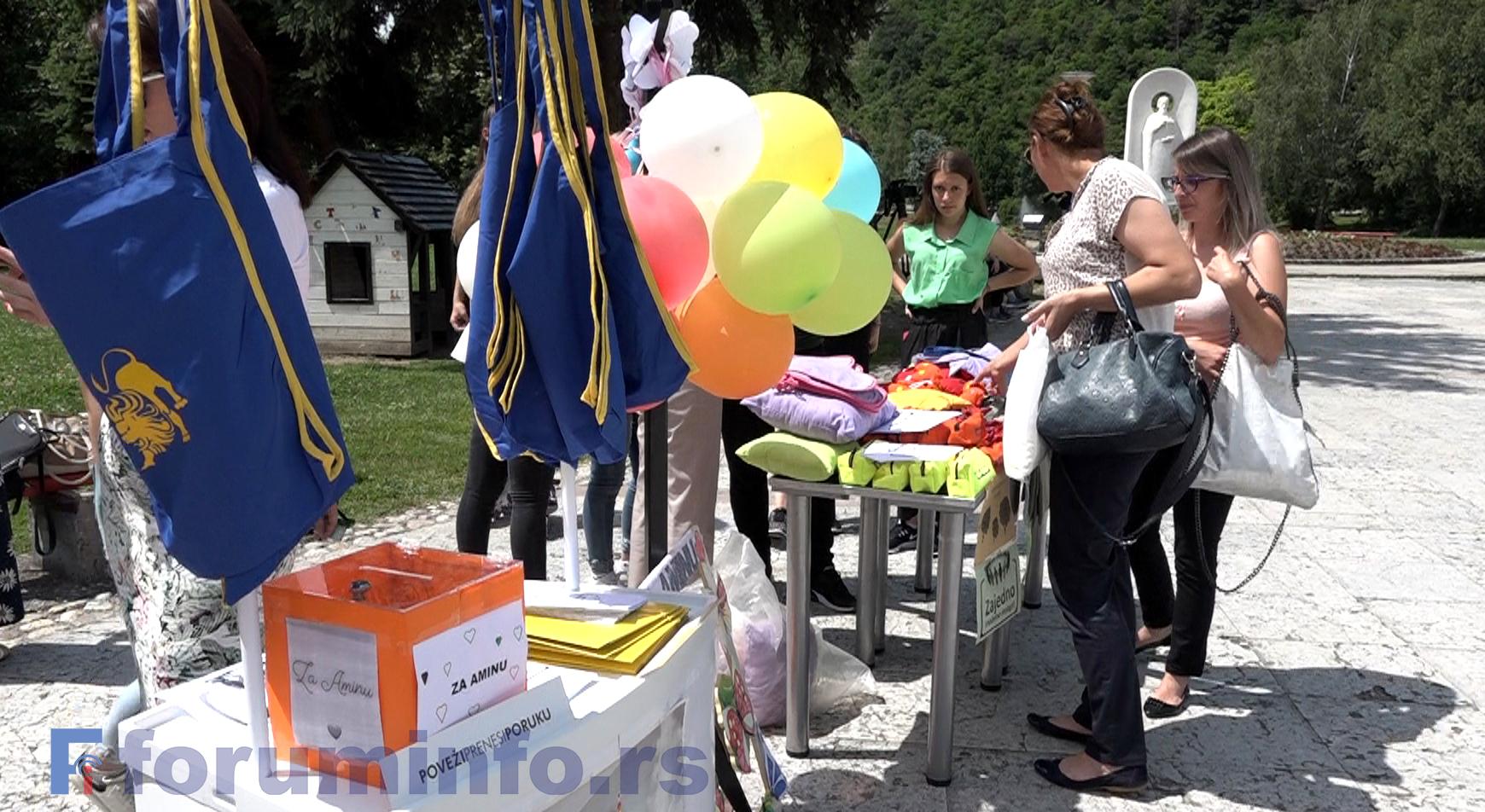 Пријепољци и Пријепољке показали хуманост донирајући за лечење Амине Мулагановић