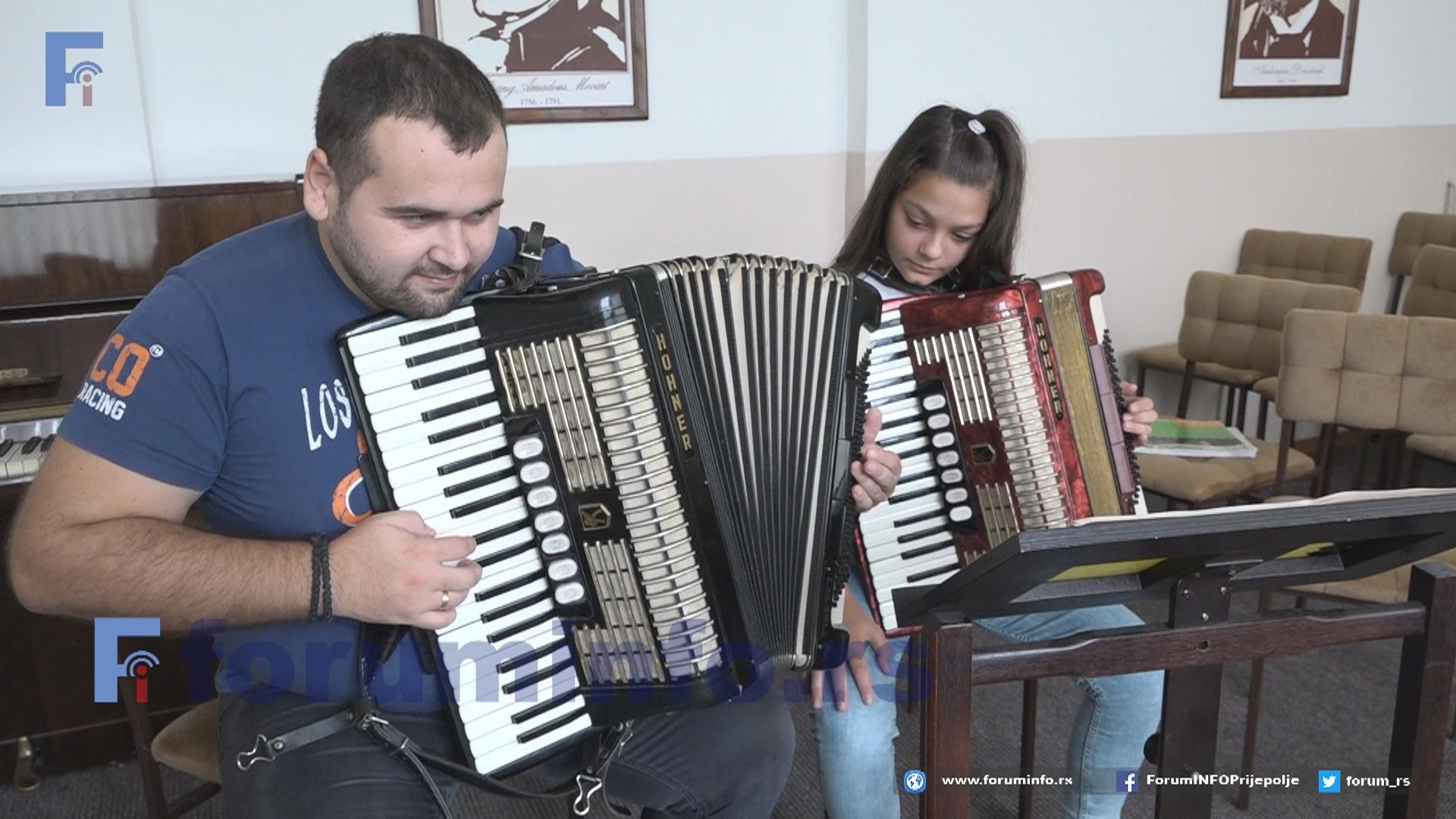 Музичка школа у Пријепољу уписује 50 ђака у припремни разред