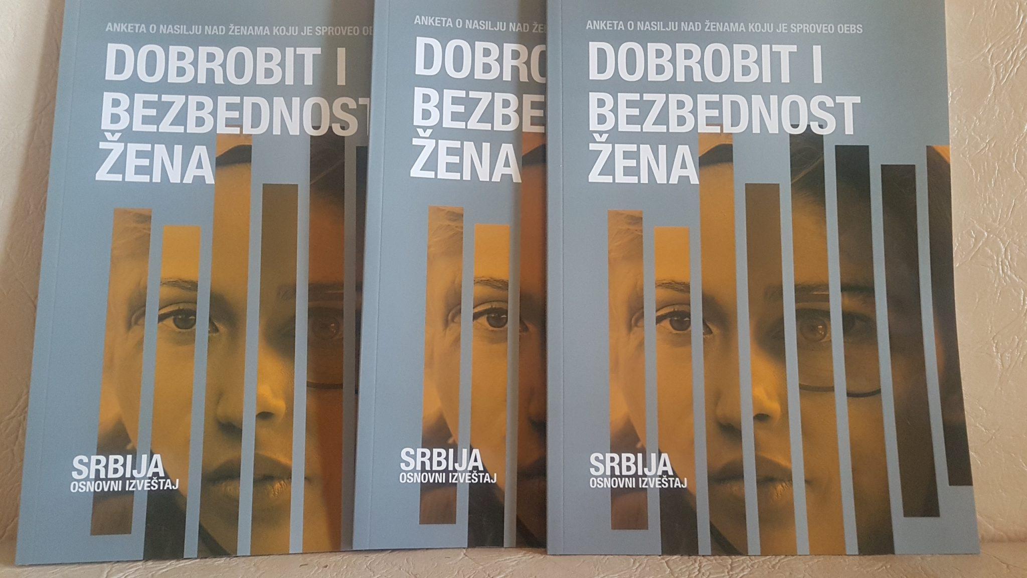 Истраживање ОЕБС-a: Више од милион и 400.000 жена у Србији доживело неку врсту насиља