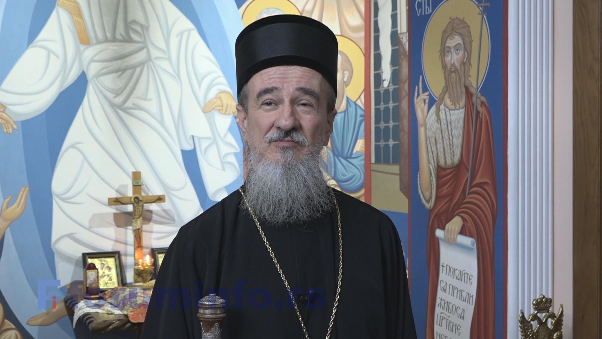 Епископ милешевски г. Атанасије честитао почетак Божићног поста