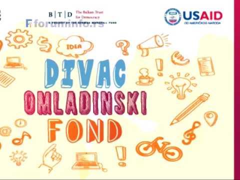 Конкурс Дивац омладинског фонда – додела бесповратних новчаних средстава пројектима које покрећу и воде млади