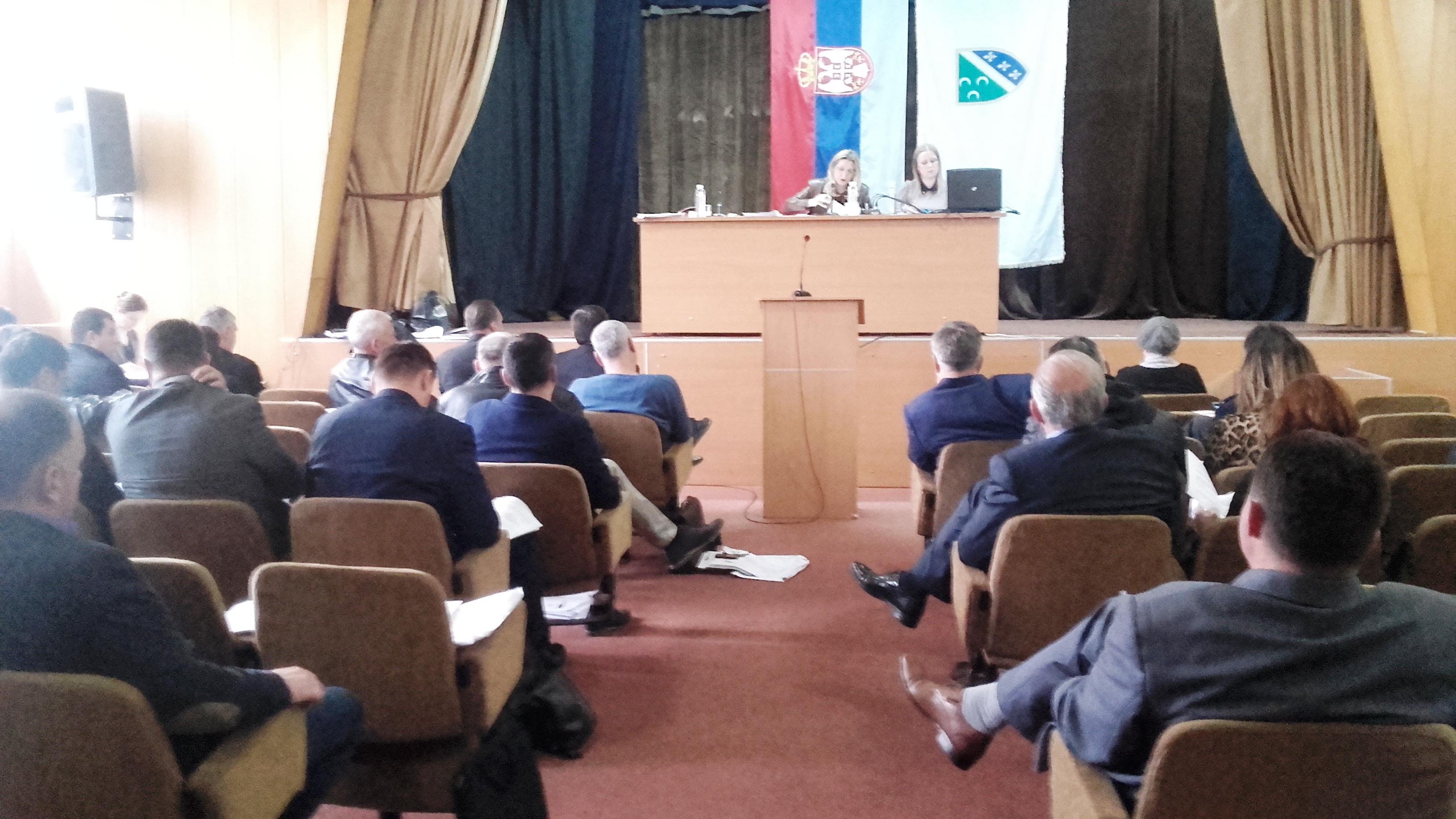 Седница СО: Сви сложни у ставу да је неопходно уређење корита реке Милешевке пре облежавања јубилеја 800 година манастира Милешеве