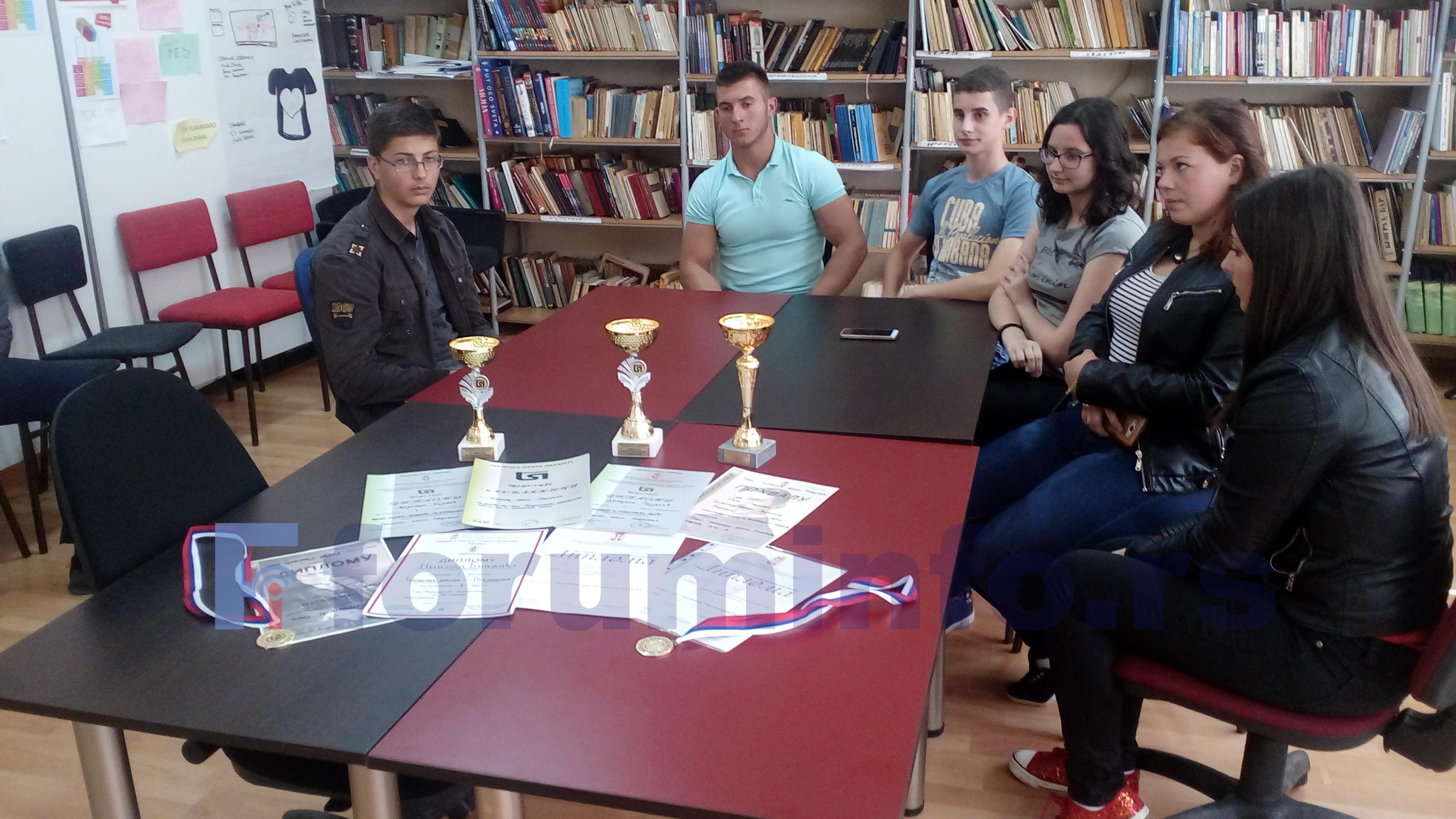 Ђаци Техничке школе у Пријепољу освојили два прва места на републичким такмичењима