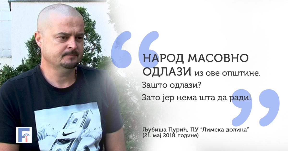 Љубиша Пурић о повезаности малинарства и просперитета града