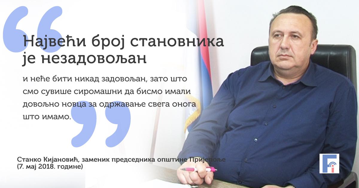 Станко Кијановић о перспективи Пријепоља