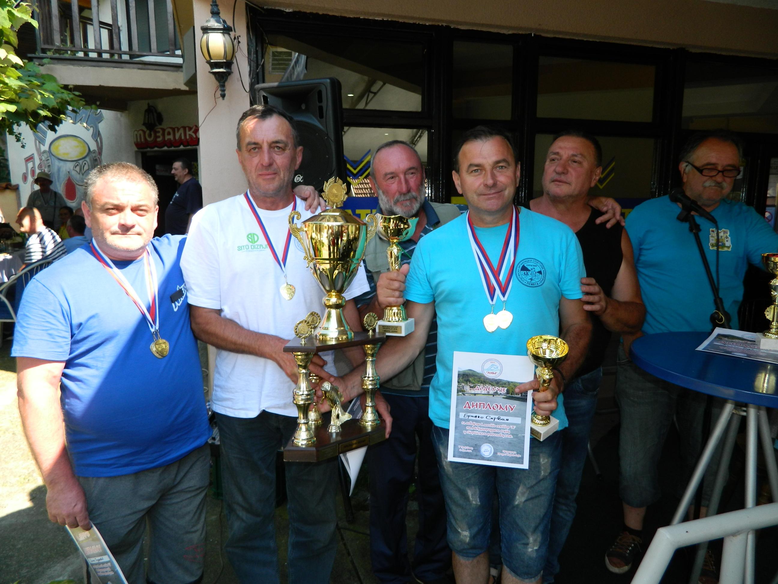 Риболовци из Пожеге најбољи у Пријепољу