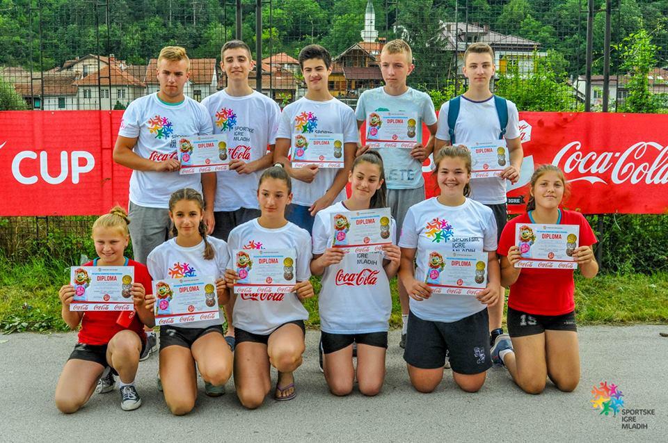 На Државном финалу Спортских игара младих 85 основаца из Пријепоља
