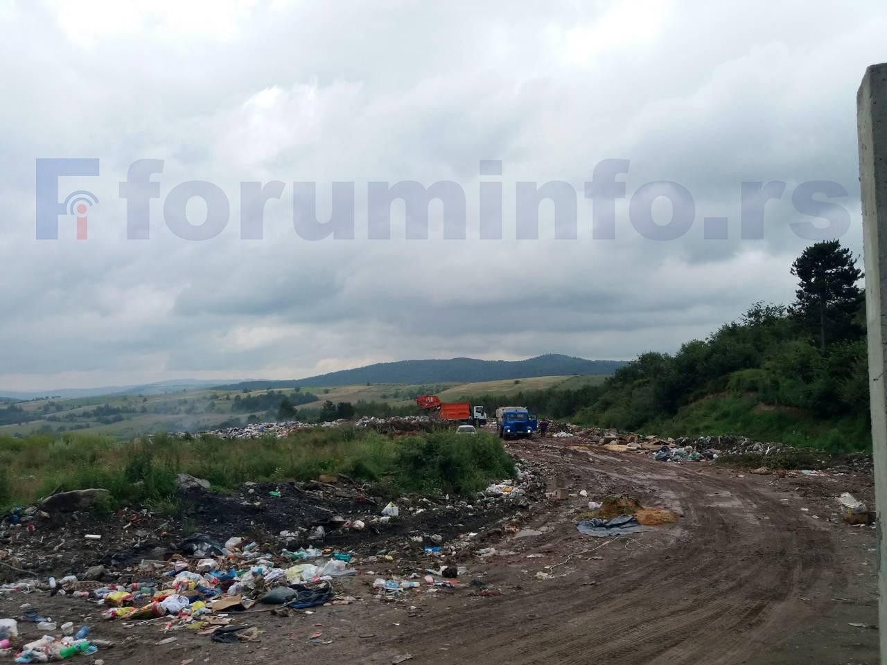 Депонија Бањица решење за отпад из Сјенице