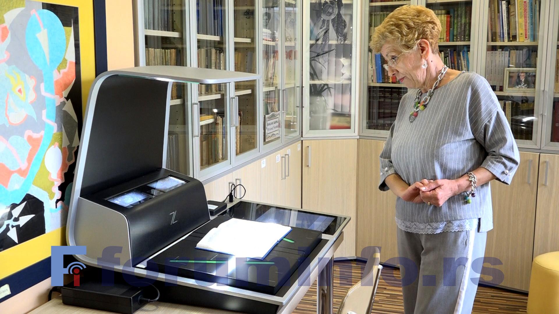 Око 80% грађе Завичајног одељења библиотеке Вук Караџић у Пријепољу доступно на Интернету