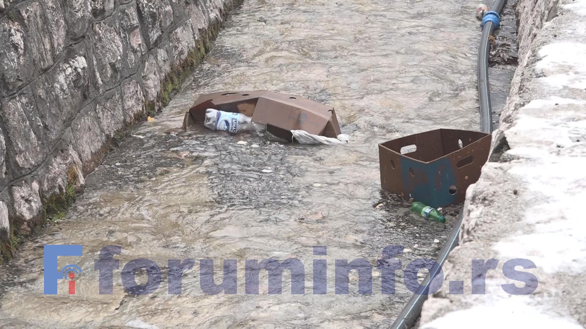 Поток у центру Пријепоља – Место за одлагање смећа несавесних грађана