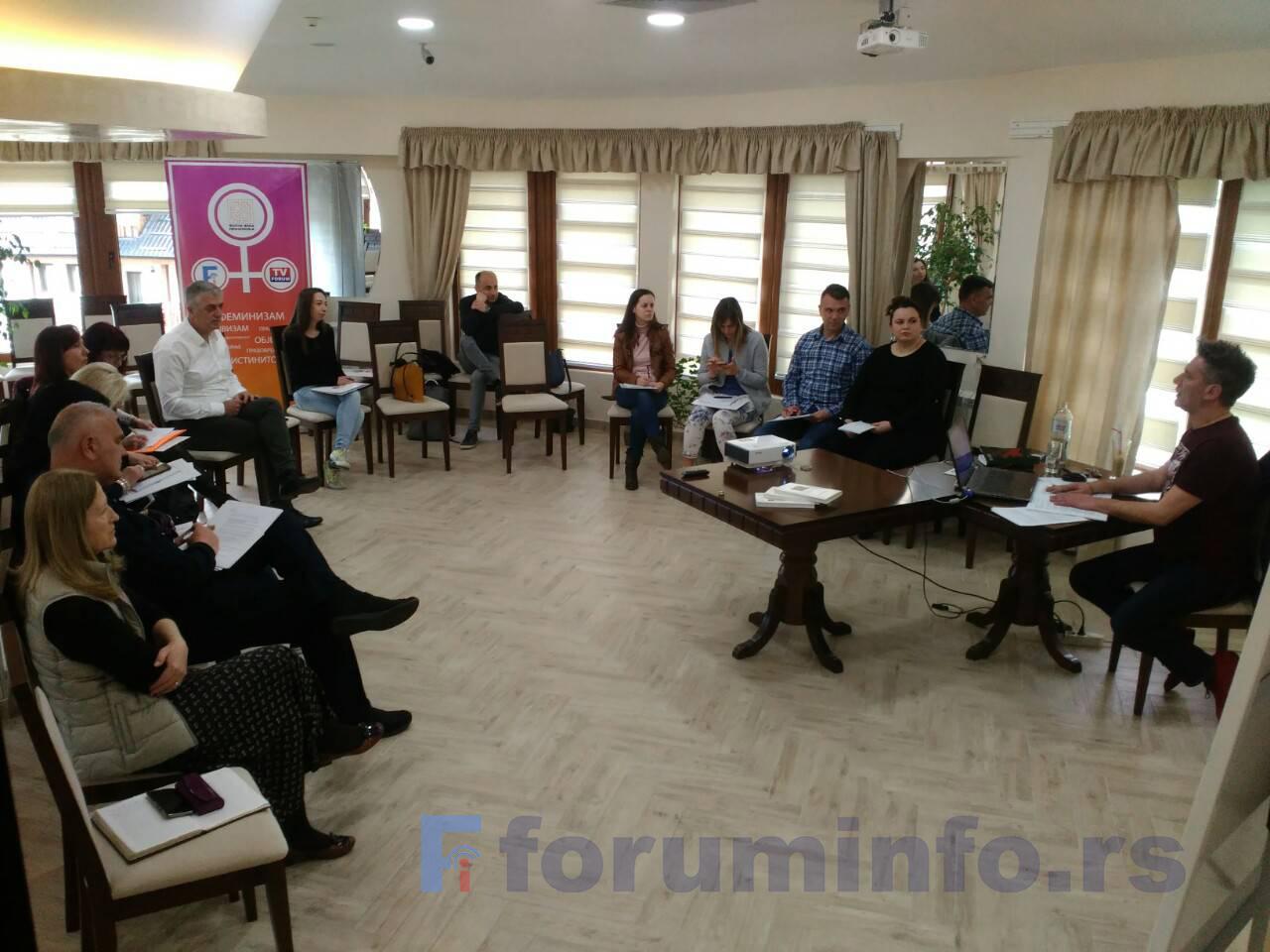 У току семинар о унапређењу професионалних и етичких стандарда медија у области информисања о корупцији