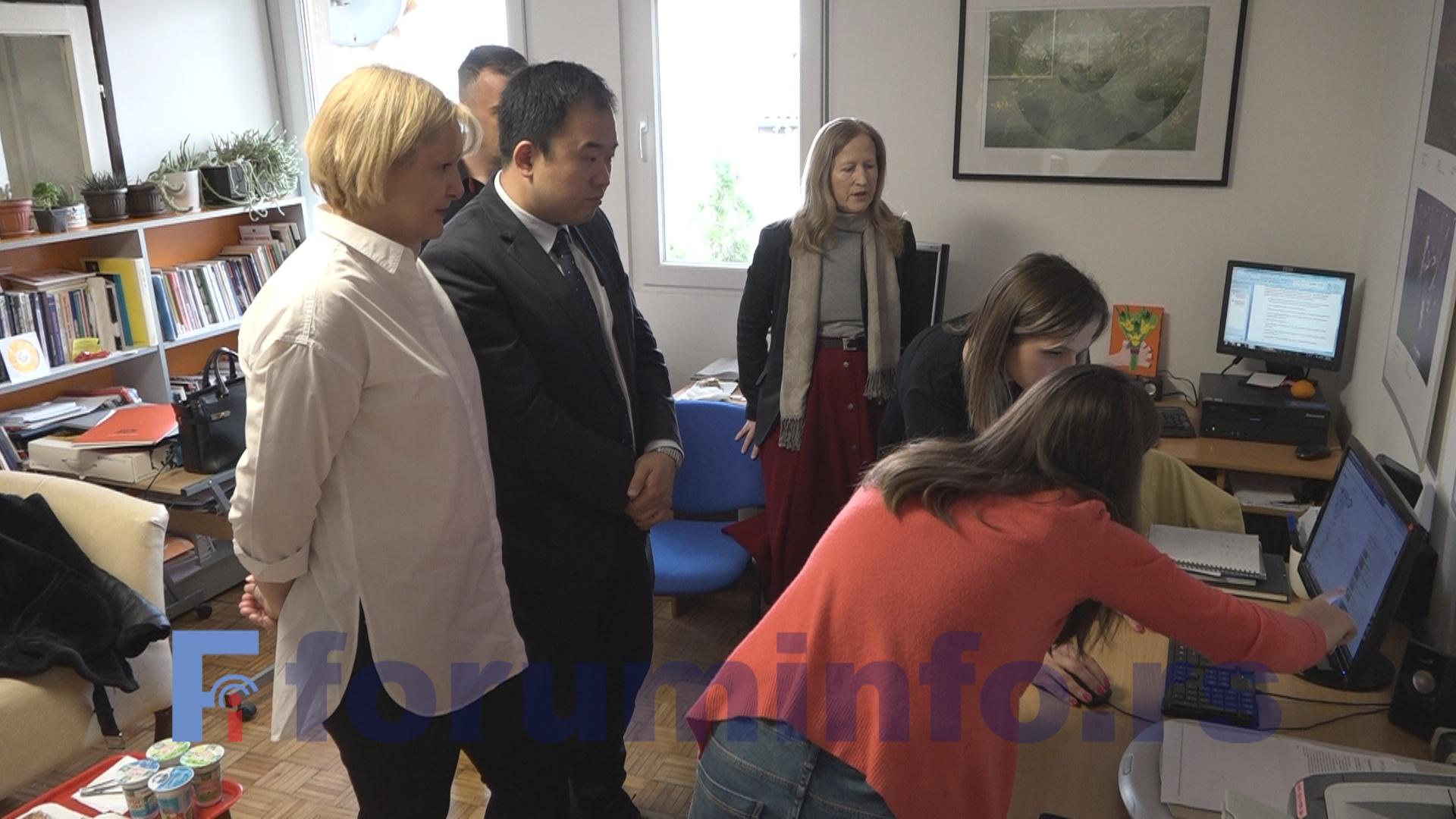 Заменик амбасадорке Аустралије у Србији Лианг Зенг у посети Форуму жена Пријепоља