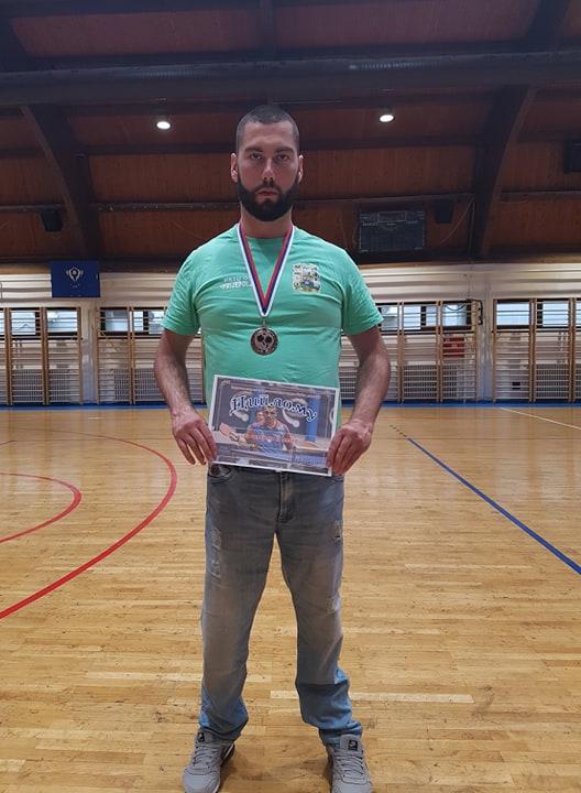 Хамед Подбићанин нову сезону почео бронзаном медаљом