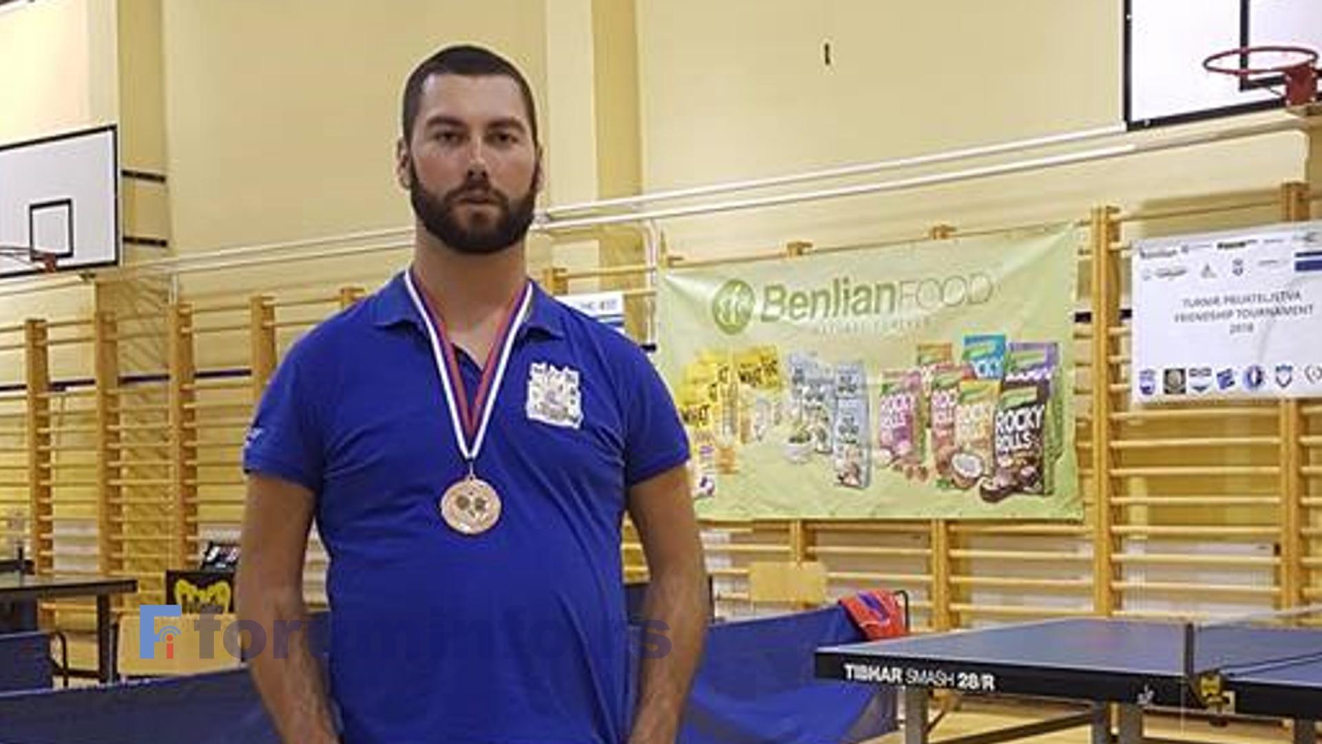 Хамеду Подбићанину бронзана медаља у Сарајеву