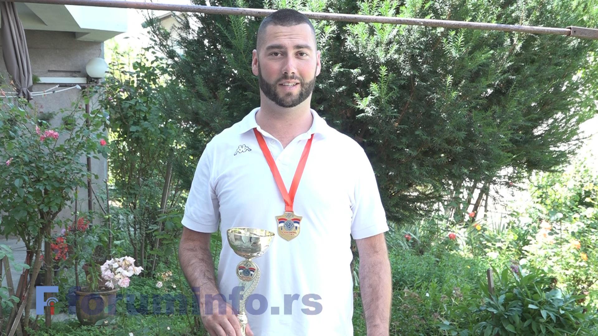 Хамед Подбићанин – Прво злато за Пријепоље на Пара МОСИ
