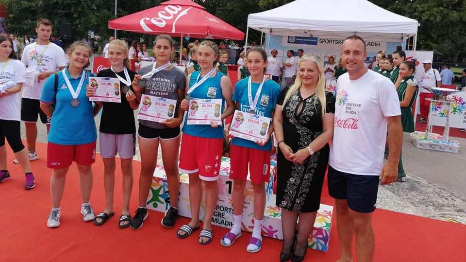 """Кошаркашице """"Милешевке"""" учествују на Спортским играма младих у Сплиту"""