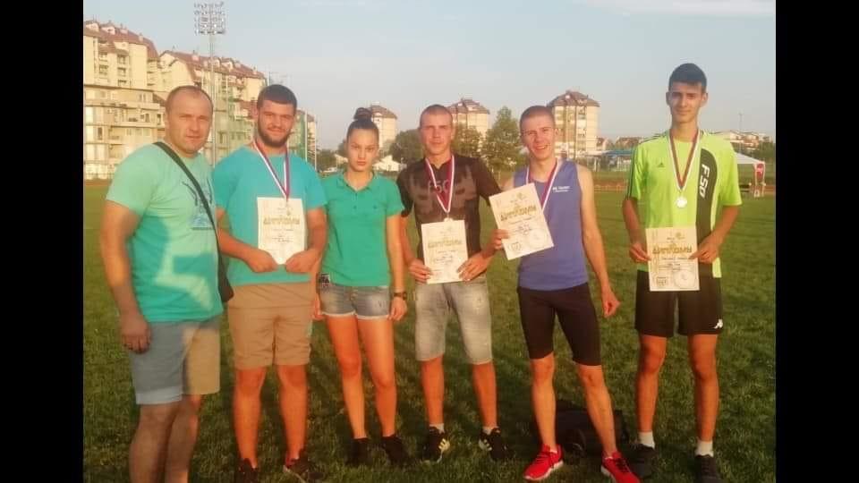 """Четири медаље за атлетичаре АК """"Полет"""" у Крушевцу"""