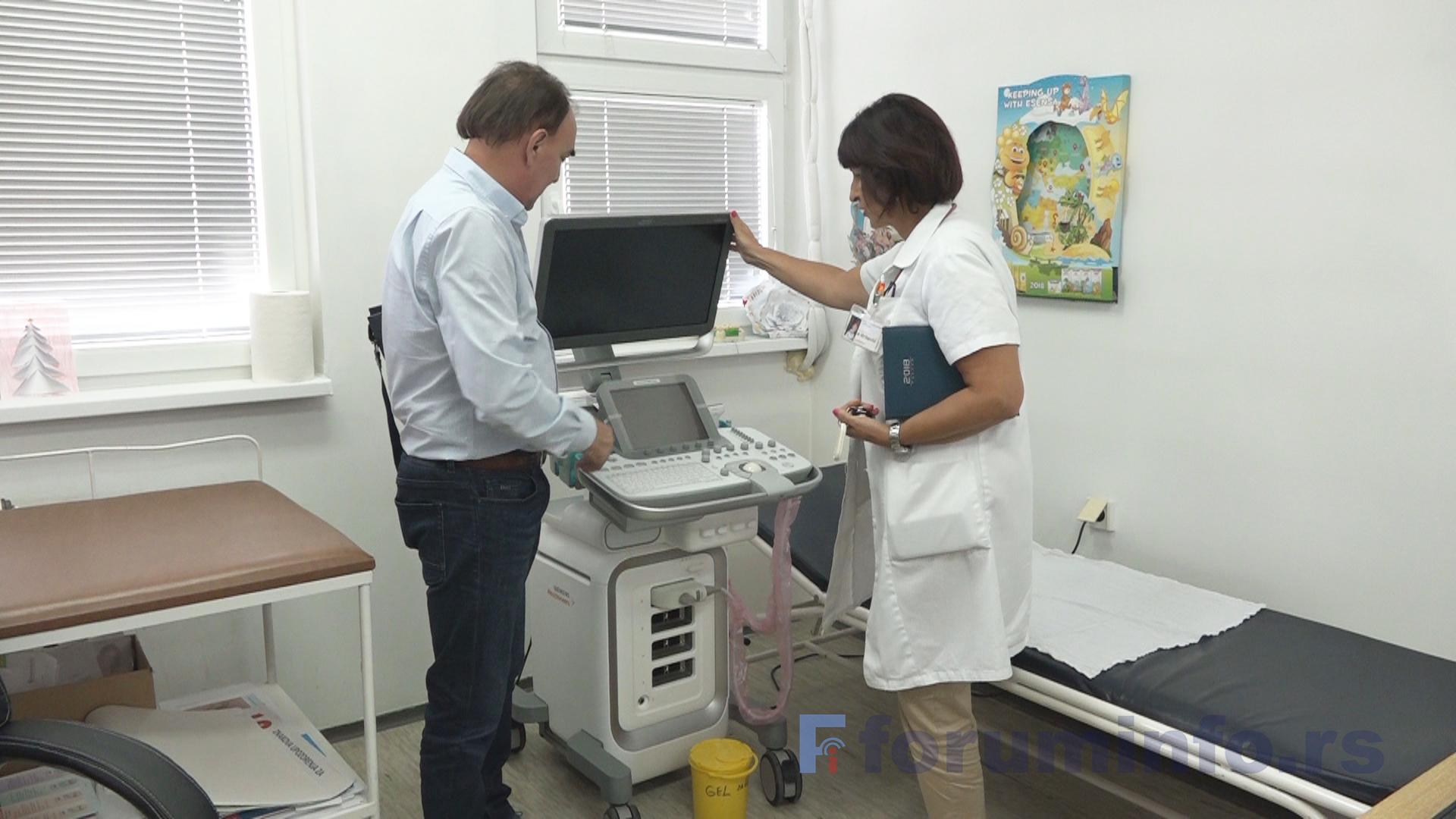 Служба за здравствену заштиту деце добила нови ултразвучни апарат