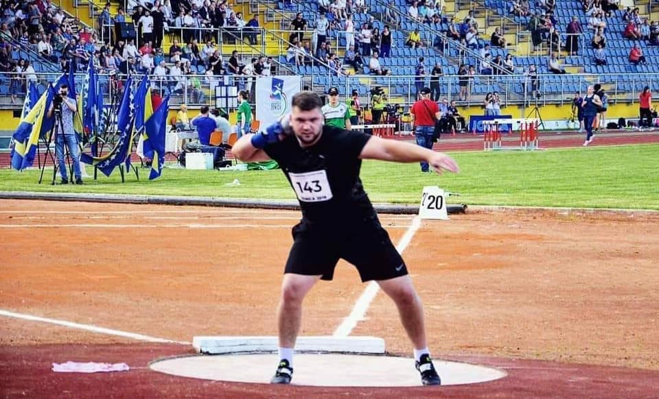 Армин Синанчевић у четвртак дебитује на Светском првенству у Дохи