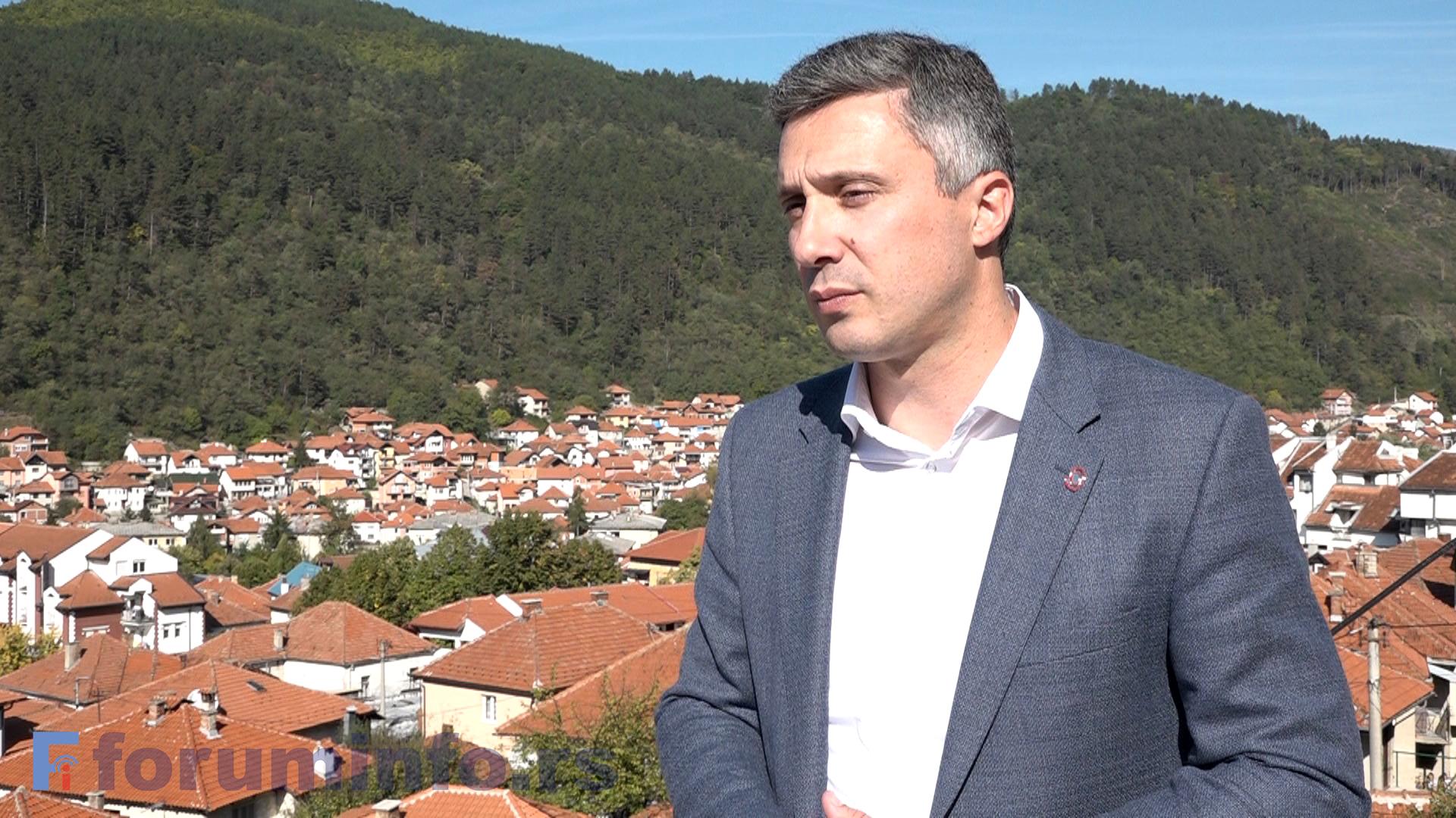 Бошко Обрадовић у Пријепољу: Бојкотом до фер избора