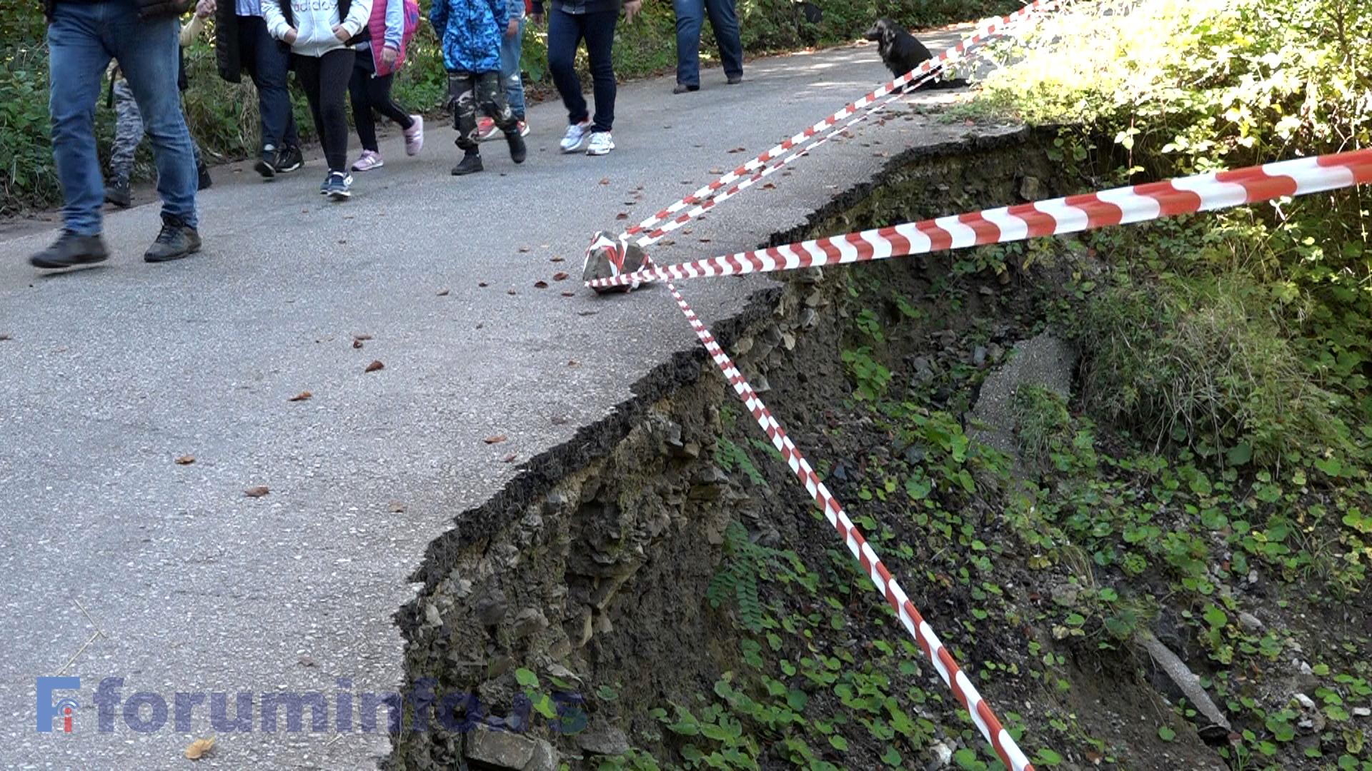 Одрон код Хисарџичког потока претња за пешаке и возила
