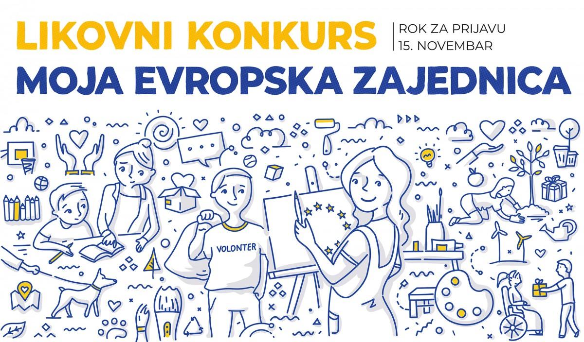 """Расписан ликовни конкурс """"Моја европска заједница"""" за средњошколце"""