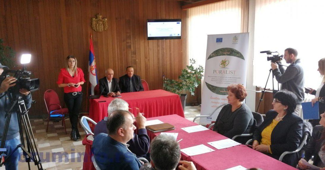 Први састанак радне групе општине Пријепоље у оквиру пројекта ПОРАЛИСТ