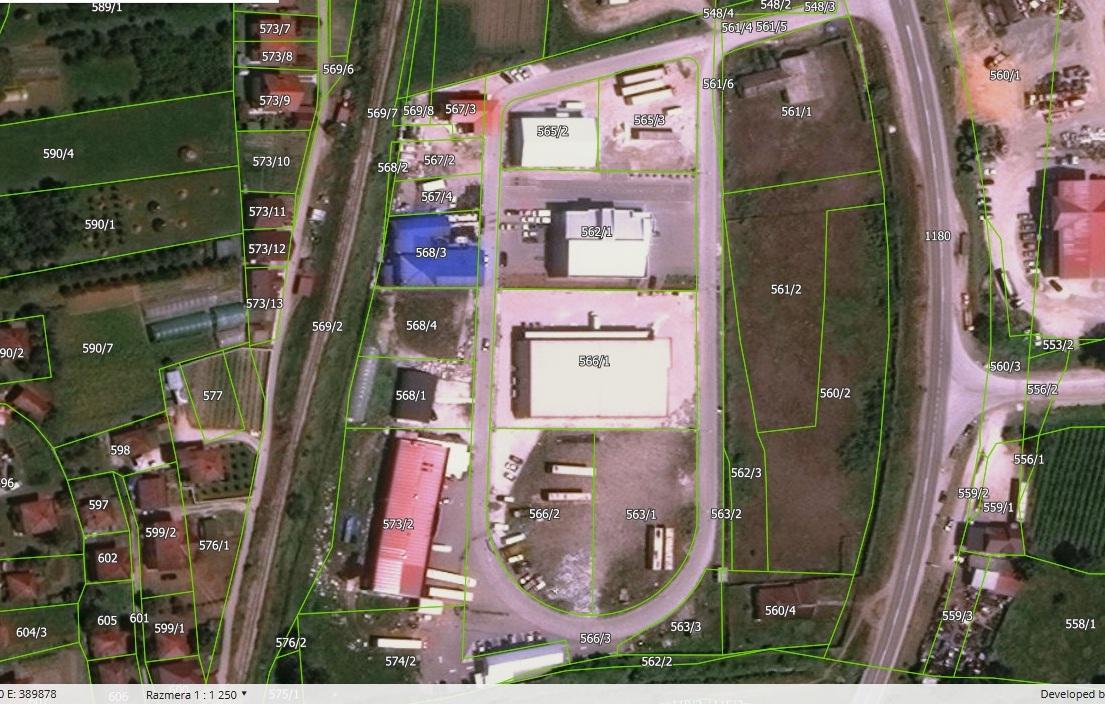 За отуђење пет парцела у индустријској зони Коловрат понуђено 15 милиона 250 хиљада динара