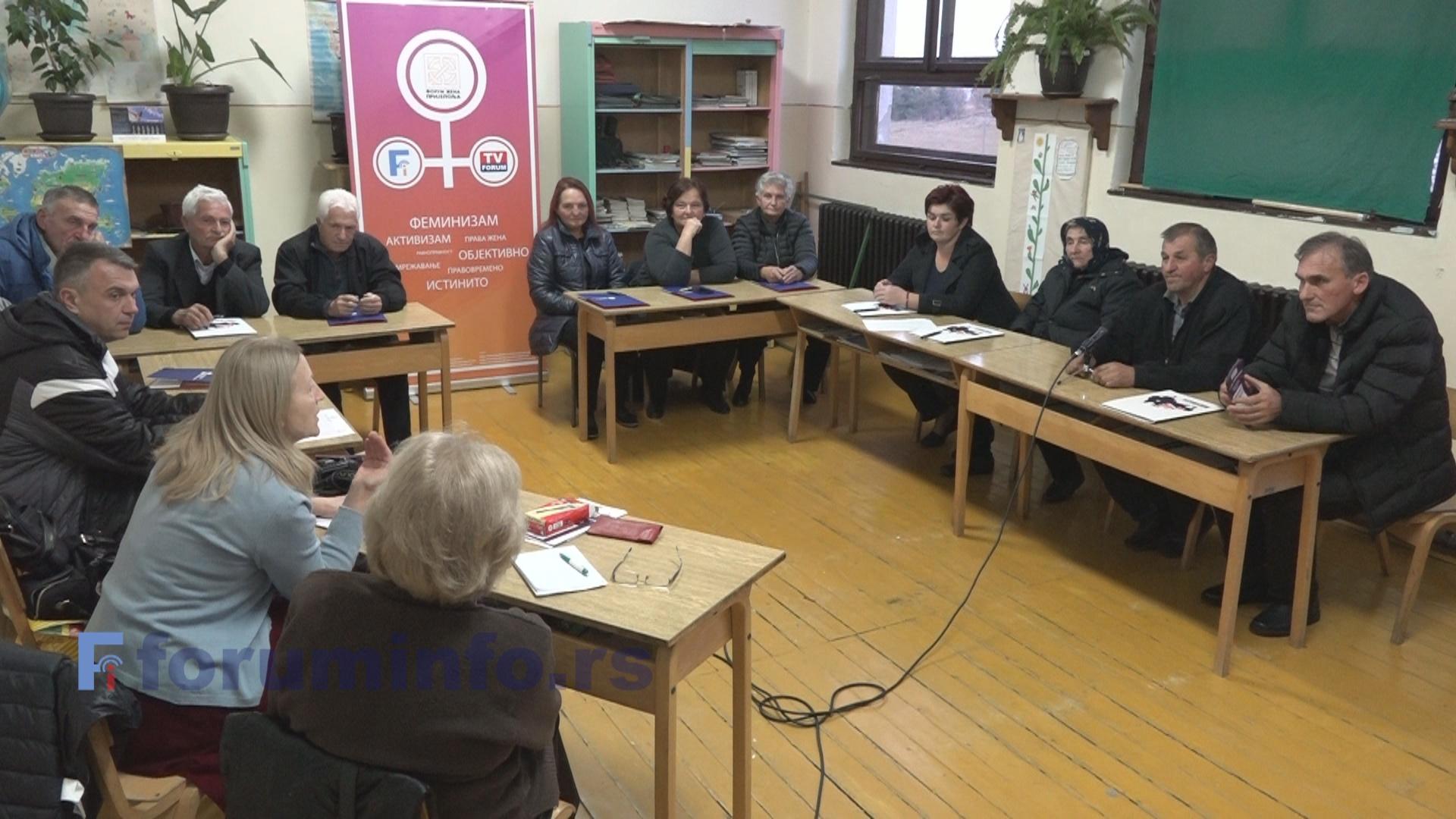 Састанак у МЗ Јабука: Жене би да се питају и одлучују