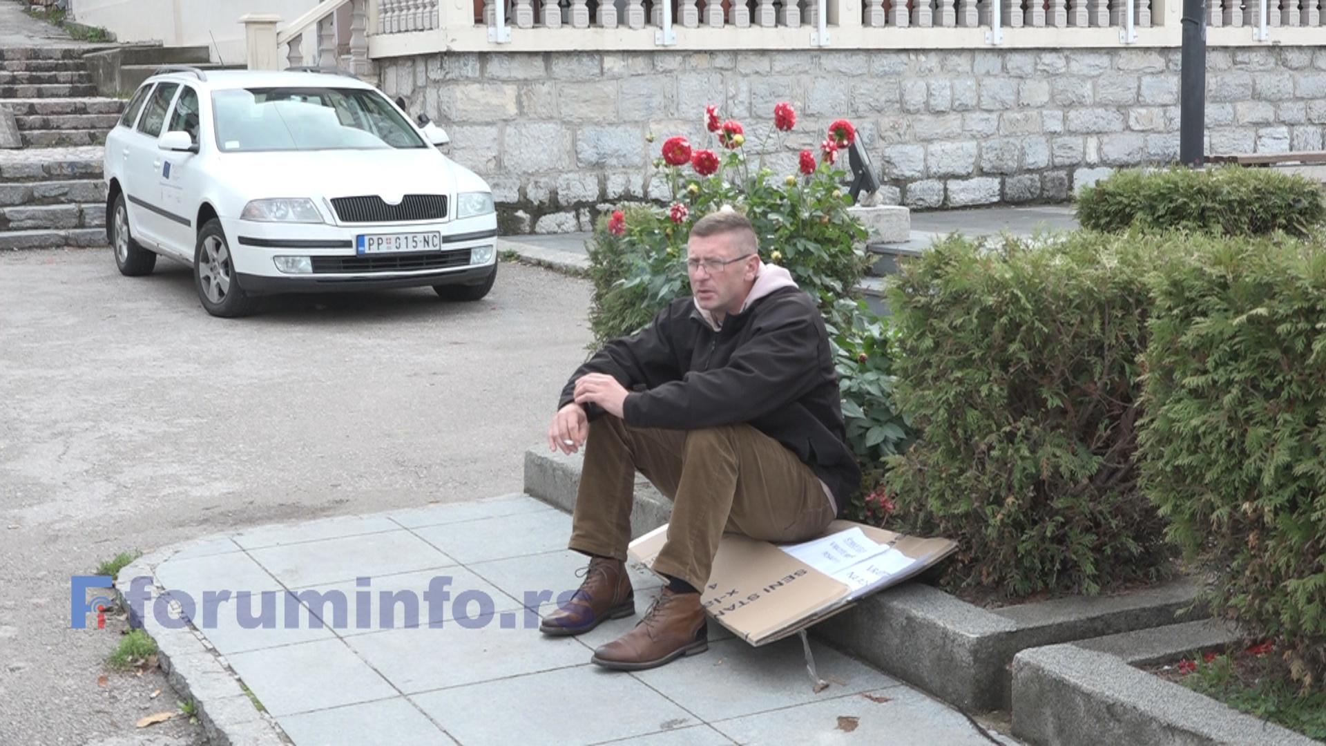 Мерзан Тахировић почео штрајк глађу – Нећу милостињу, хоћу да радим