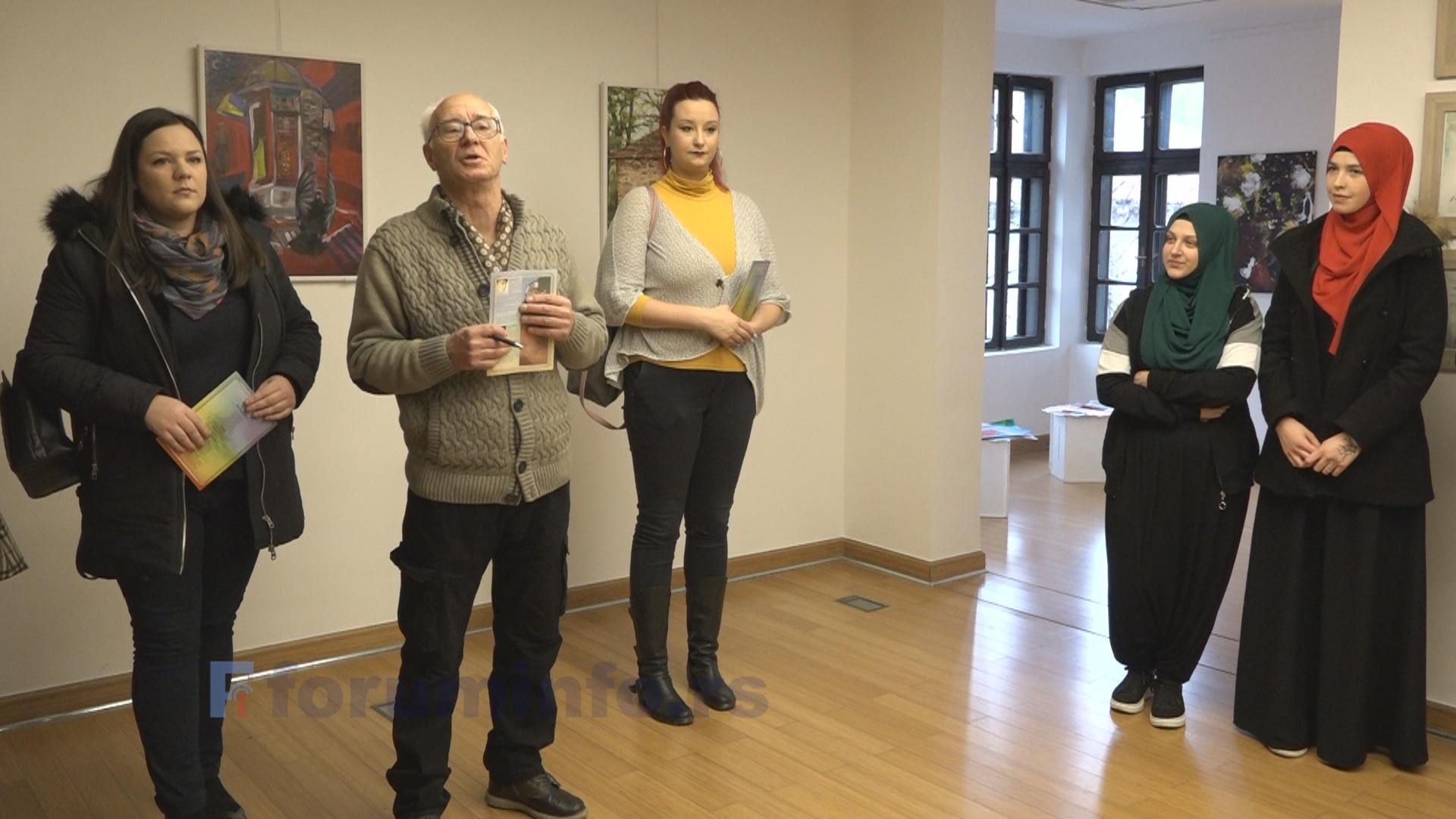 """Изложба слика """"Уједињене боје Диванхане"""" отворена у Музеју у Пријепољу"""