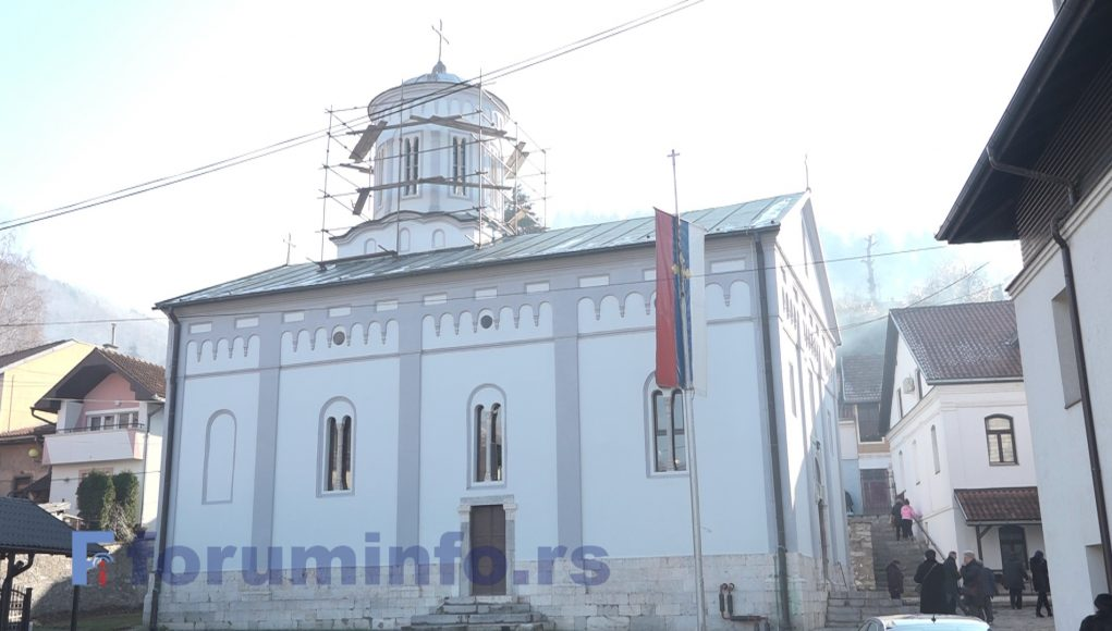 Обнова цркве Светог Василија Острошког у Пријепољу приводи се крају