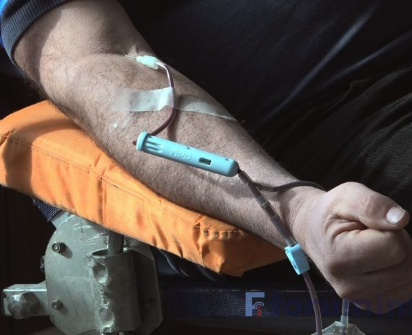 Akcija dobrovoljnog davanja krvi za Ivanu i Saja