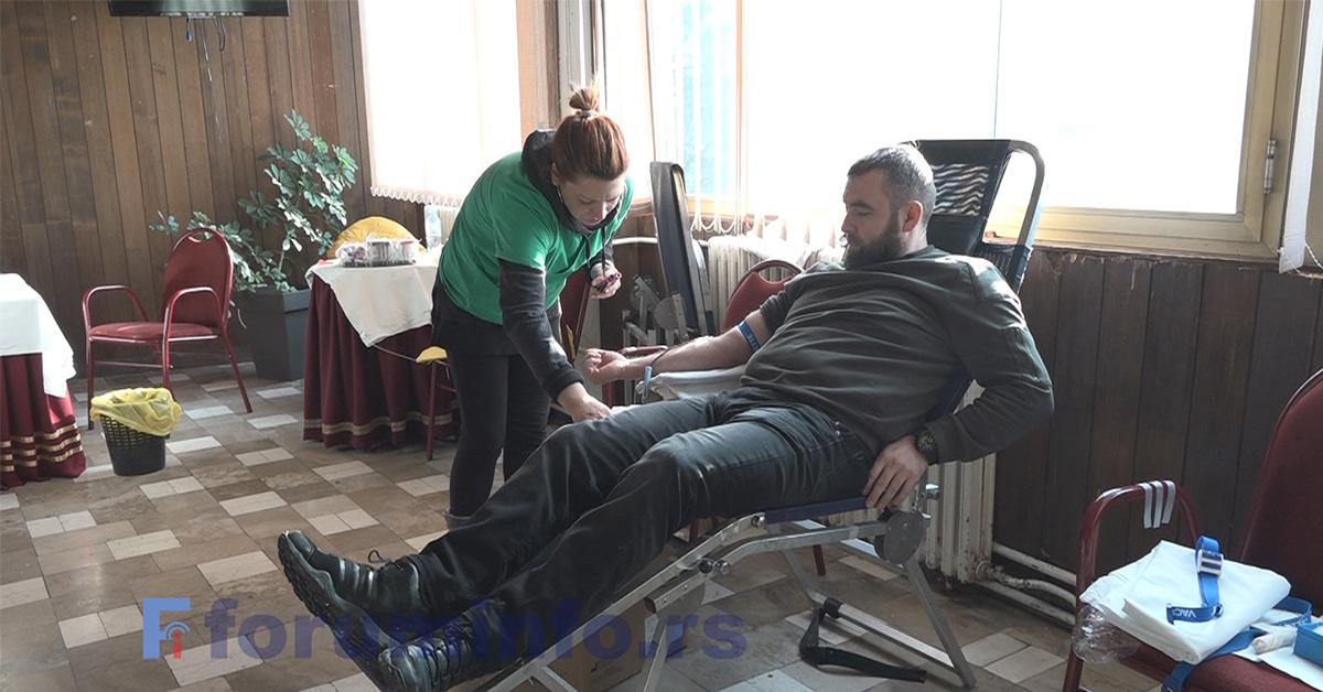На првој акцији давалаштва крви у 2020. години у Пријепољу 16 давалаца