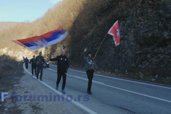 Пешке од Београда до Подгорице због одбране светиња и светосавског духа