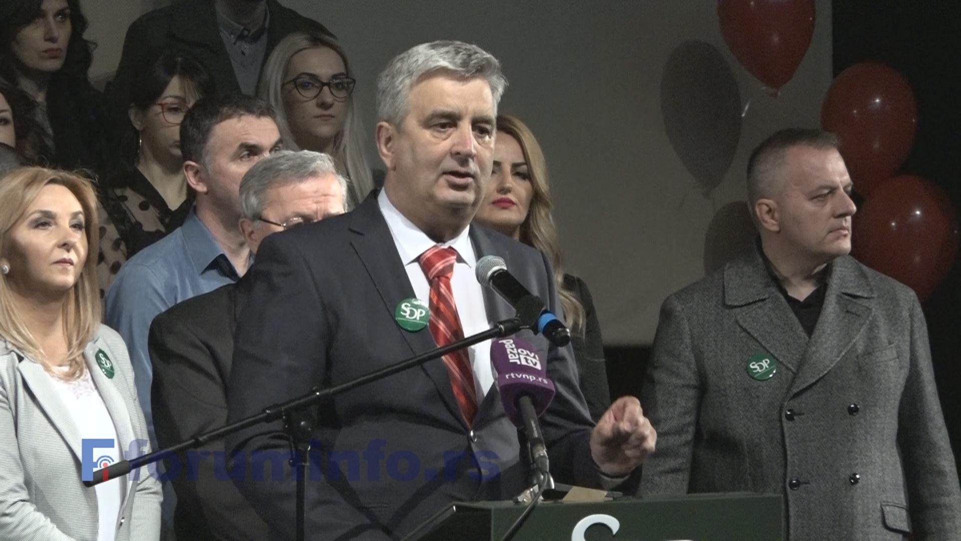 СДП и СДПС излазе на локалне изборе у Пријепољу са мултиетничком листом