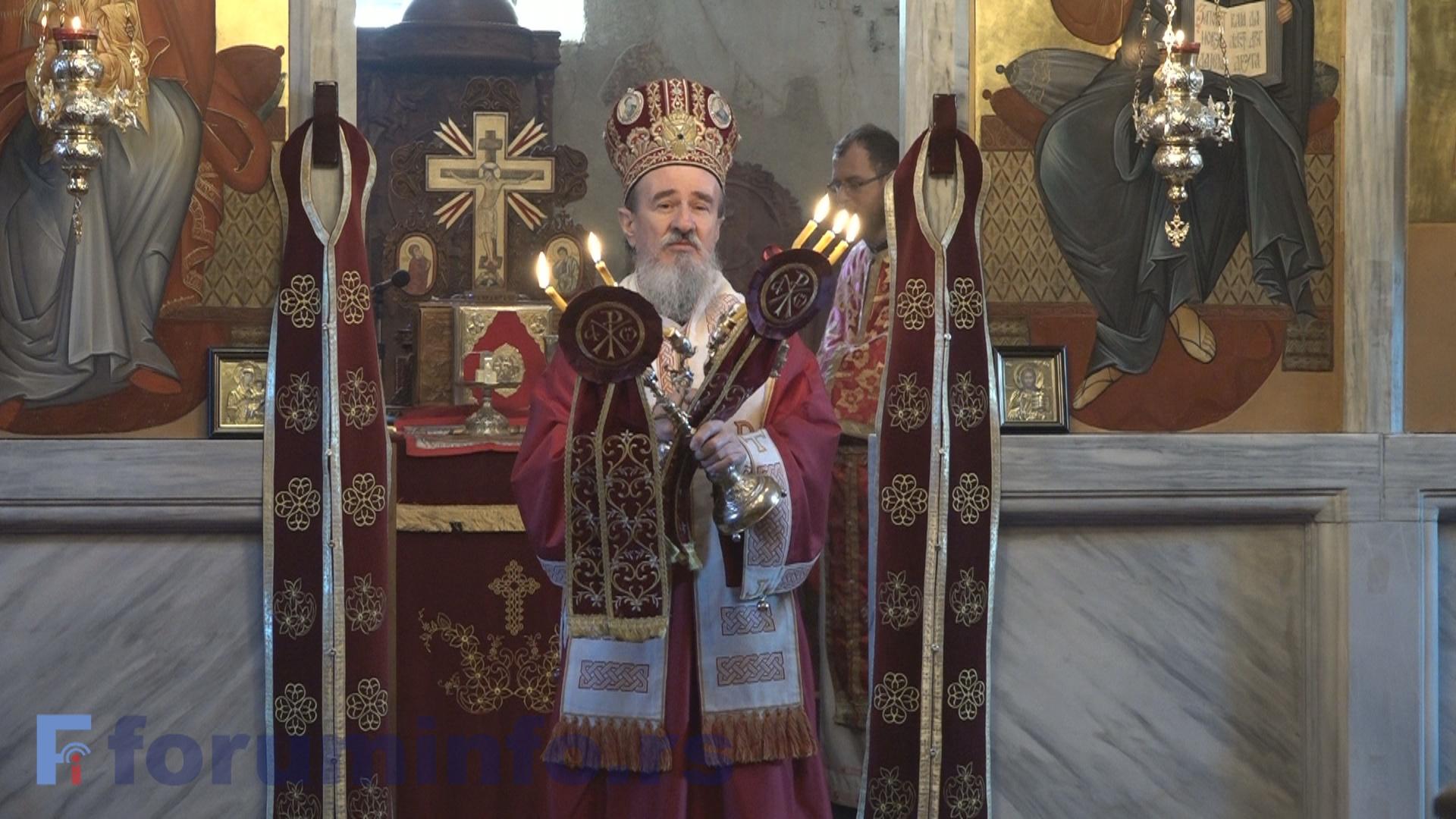 Епископ Атанасије се успешно опоравља од Ковида-19 у Пријепољу