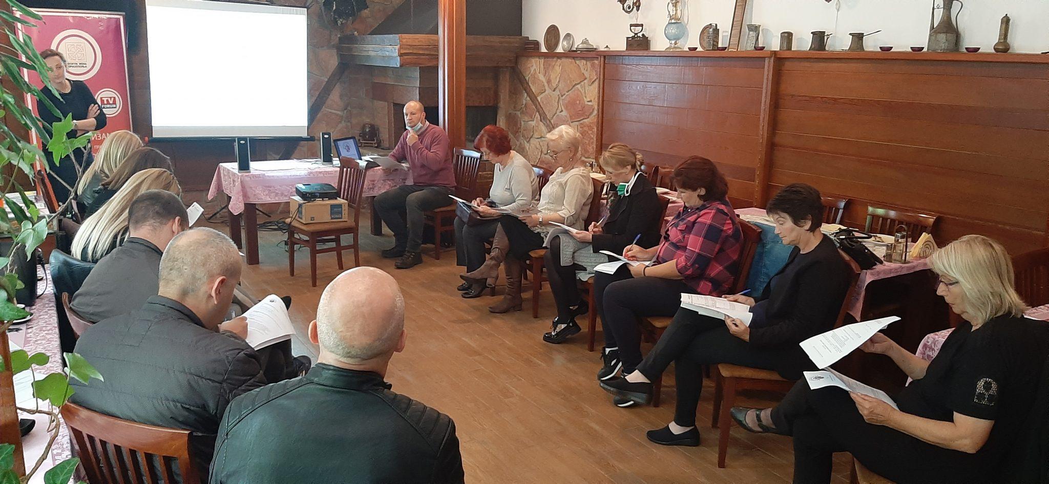 Тренинг Форума жена Пријепоља: Како до информација од јавног значаја?