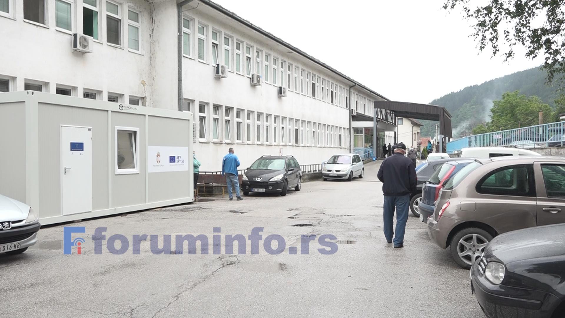 У Пријепољу поново без новозаражених – Смањен број пацијената и у изолационом одељењу