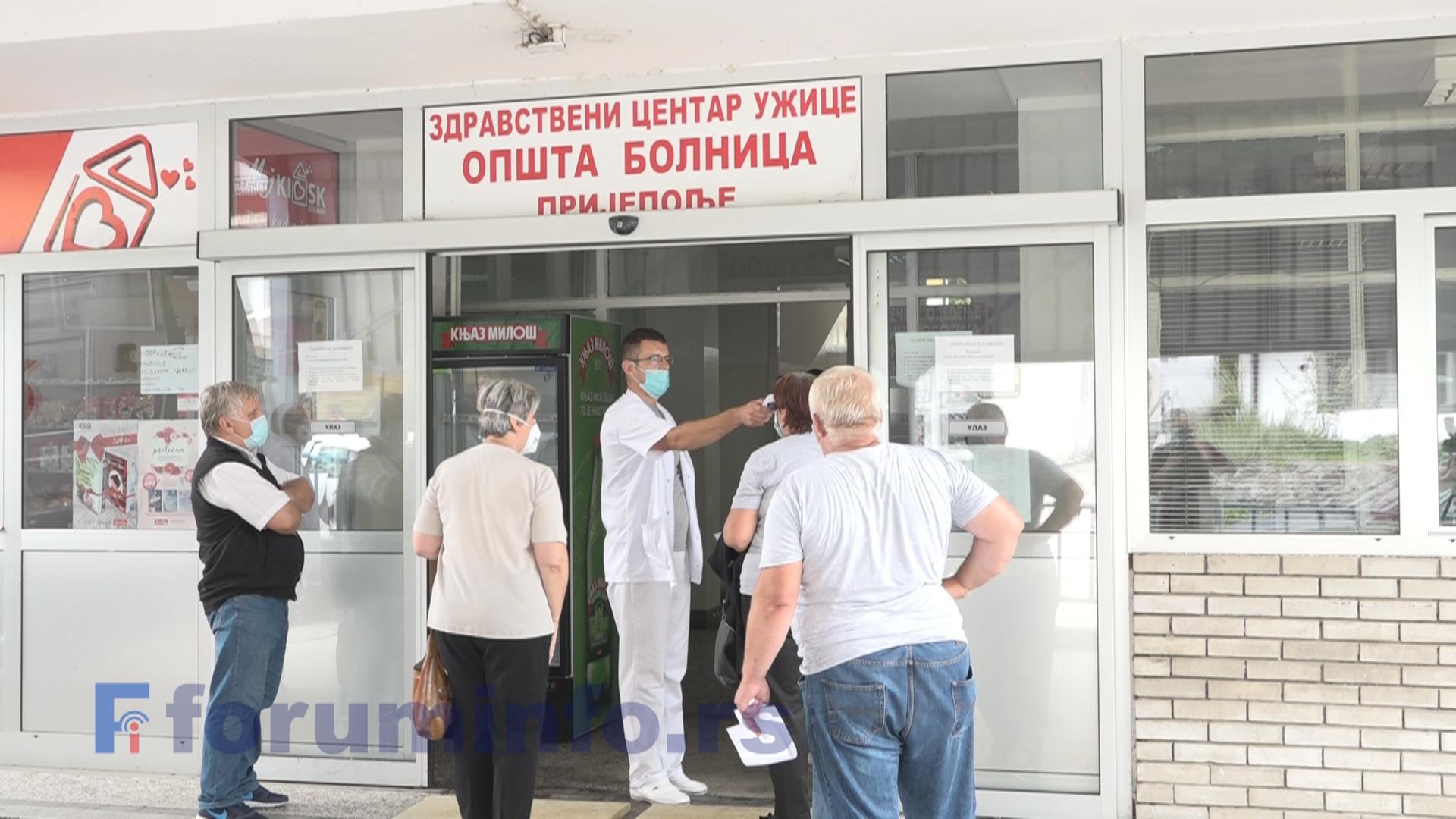 Отворено Ковид одељење при Општој болници Пријепоље