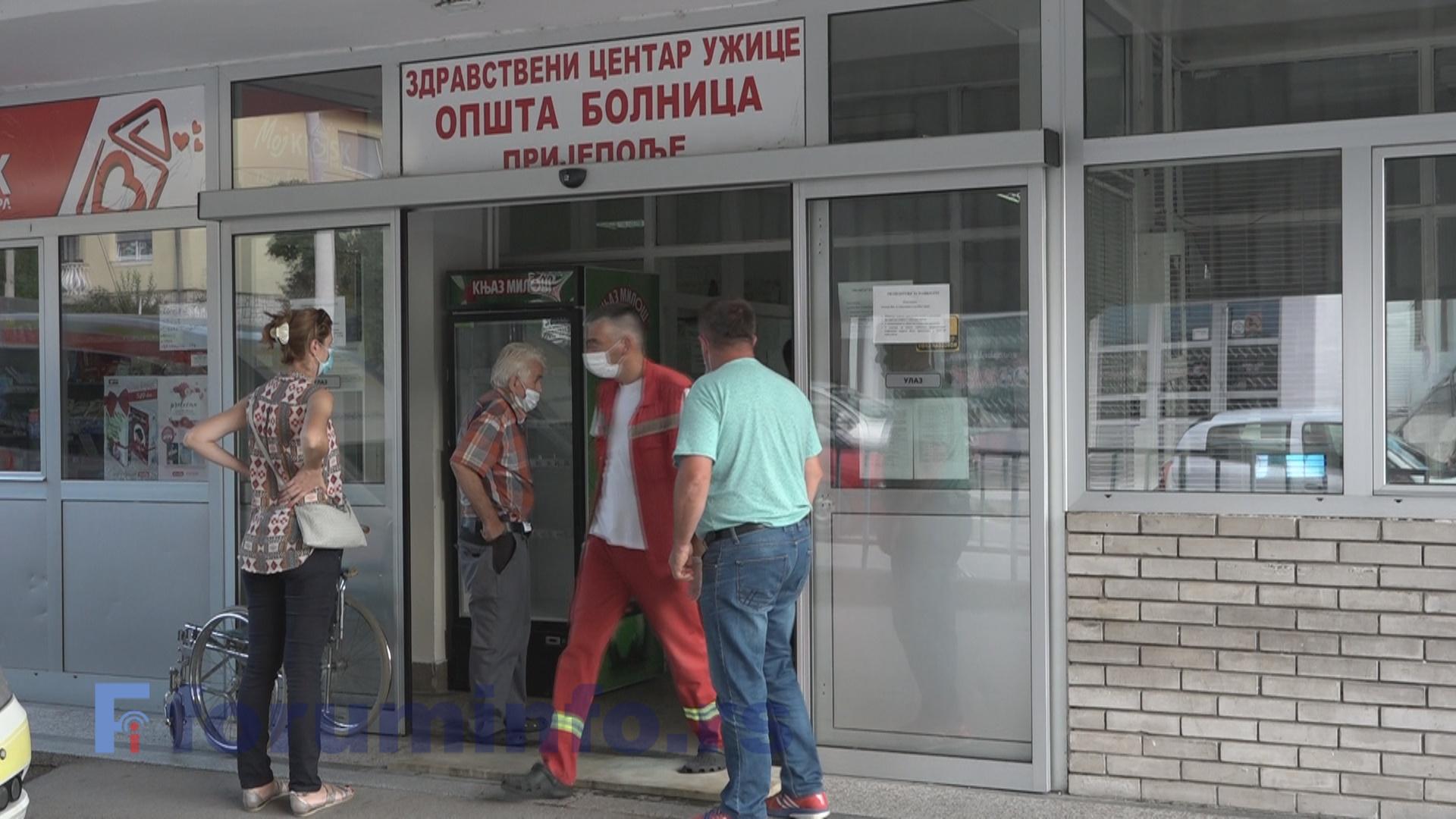 У Пријепољу један нови случај инфекције корона вирусом