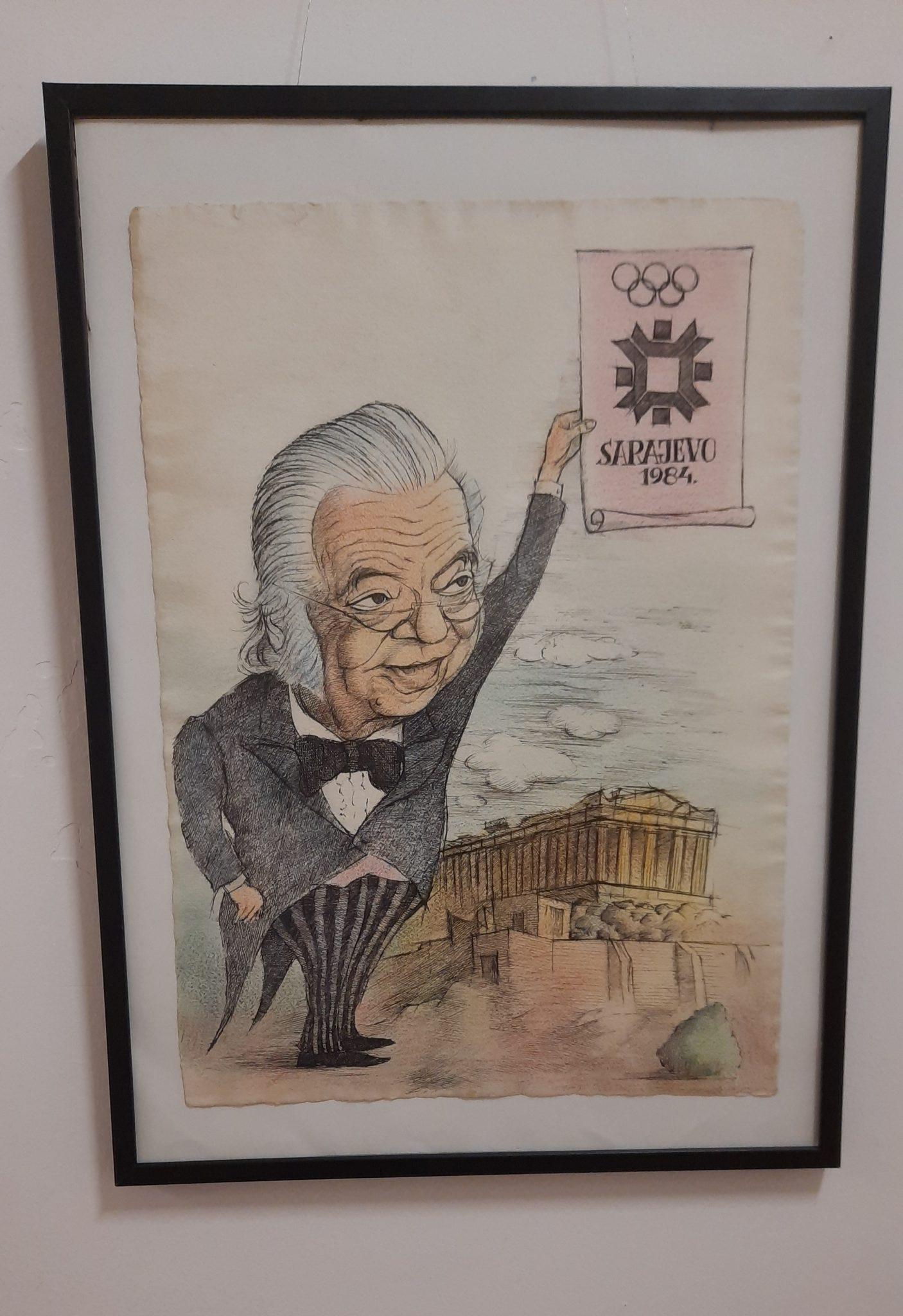 """У Музеју у Пријепољу отворена изложба """"Зимске олимпијске игре 84"""""""