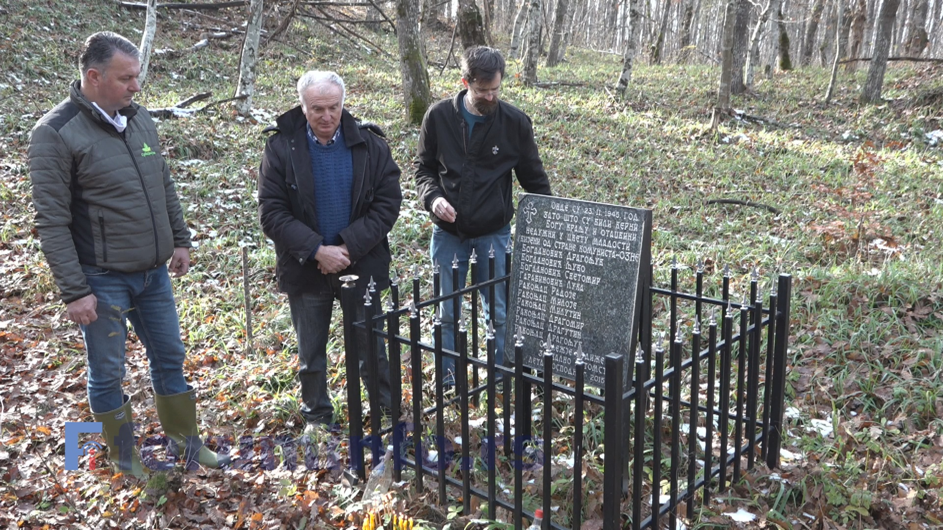 Смрт петорице браће Ракоњаца – 75 година од погибије у Гробницама