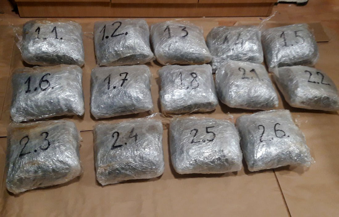У Пријепољу ухапшен Сомборац са 14 кг марихуане