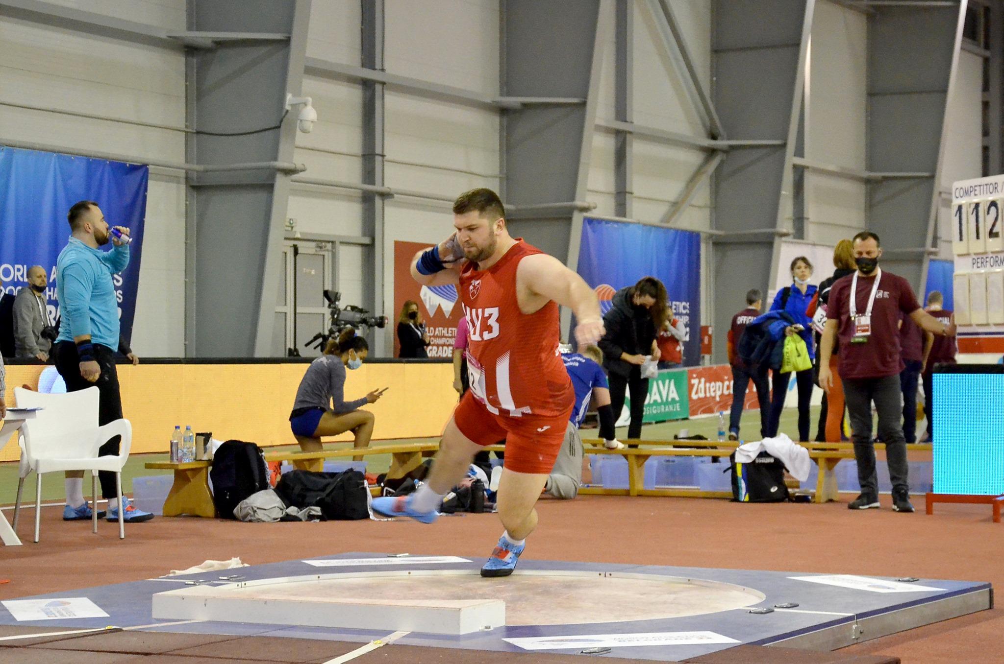 Армин Синанчевић нови – стари дворански рекордер Србије у бацању кугле