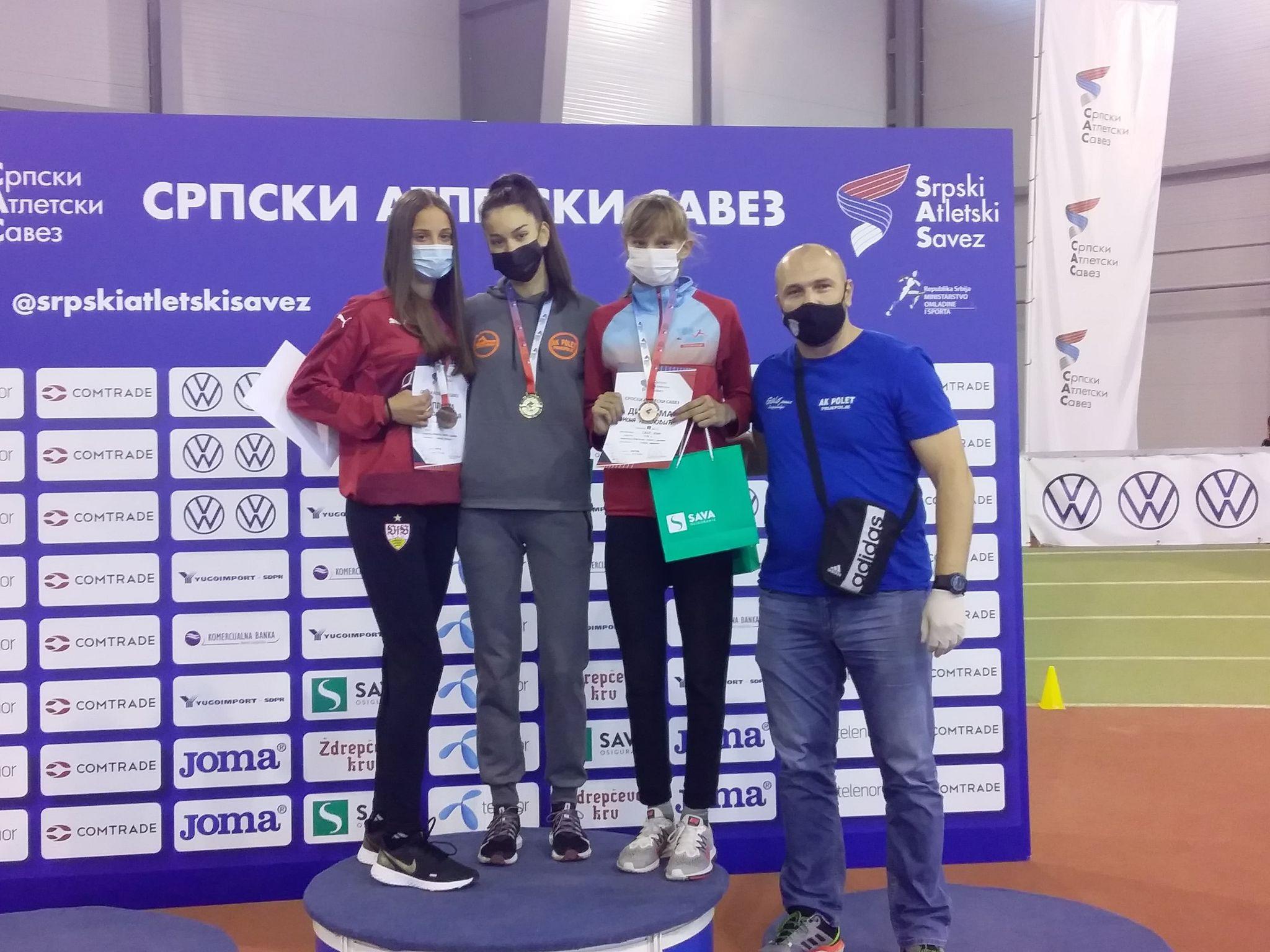 Николина Пејатовић првакиња Србије у скоку у вис