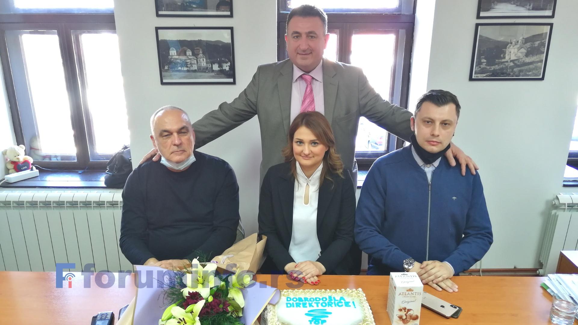 Илда Чоловић заменила Небојшу Свичевића у Туристичкој организацији Пријепоље