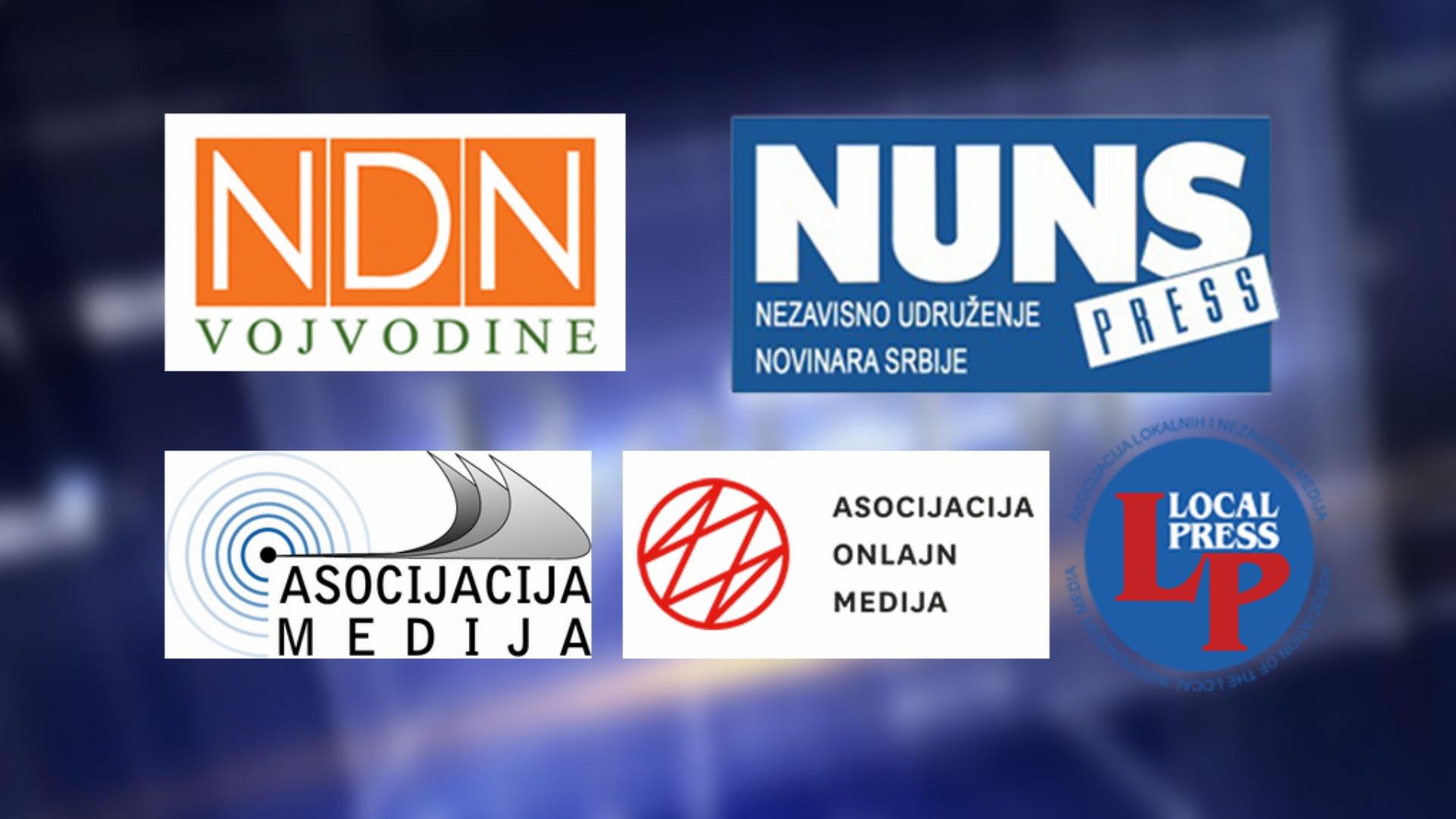 Пет медијских удружења изашло из радне Радне групе за безбедност и заштиту новинара