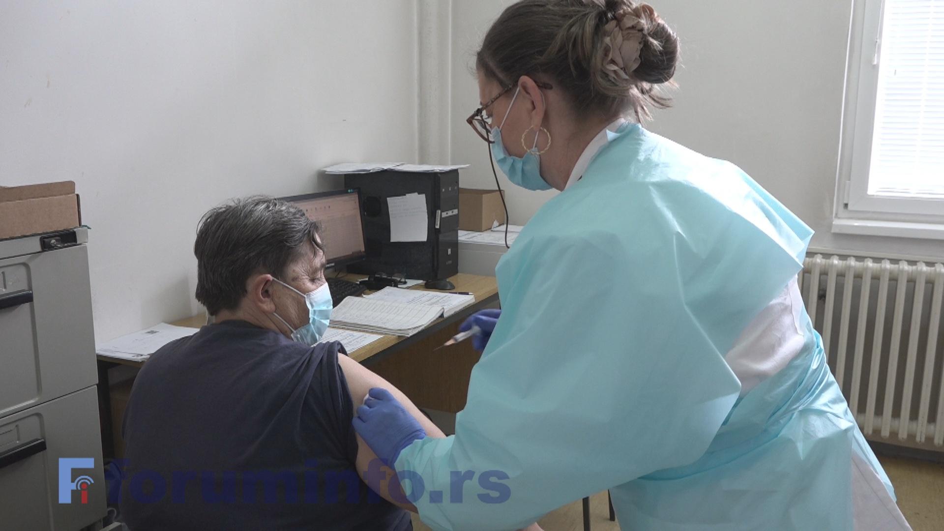 Вакцинација у Бродареву протиче без проблема